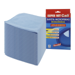 Bayeta multiusos azul 24 Unidades Super Net Cali