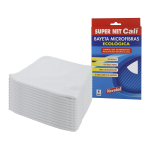 Bayeta microfibras blanca 12 Unidades Super Net Cali