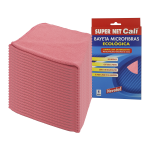 Bayeta microfibra multiusos rosa 24 Unidades Super Net Cali