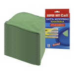 Bayeta microfibras verde 24 Unidades Super Net Cali