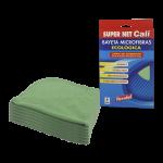 Bayeta microfibras verde 6 Unidades Super Net Cali