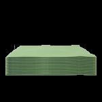 Bayeta microfibras multiusos Verde 12 Unidades Super Net Cali