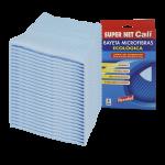 Bayeta microfibras azul 24 Unidades Super Net Cali