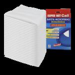 Bayeta microfibras superabsorvente blanca 24 Unidades Super Net Cali
