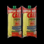 Fregona microfibras amarilla super net cali PACK 2