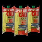 Fregona microfibras amarilla super net cali PACK 3
