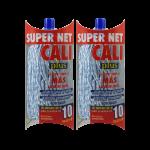 Fregona microfibra bicolor Azul 2 Unidades Super Net Cali