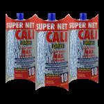Fregona microfibra bicolor Azul 3 Unidades Super Net Cali