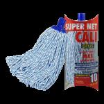 Fregona microfibra bicolor azul Super Net Cali