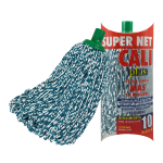Fregona microfibra bicolor Verde Super Net Cali