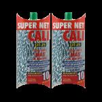 Fregona microfibra bicolor Verde 2 Unidades Super Net Cali
