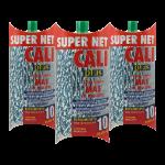 Fregona microfibra bicolor Verde 3 Unidades Super Net Cali
