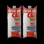 Fregona Blanca microfibras 200 Gramos 2 Unidades Super Net Cali
