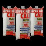 Fregona microfibra Blanca 3 Unidades Super Net Cali