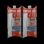 Fregona microfibra Blanca 2 Unidades Super Net Cali