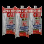 Fregona microfibra Gris 3 Unidades Super Net Cali