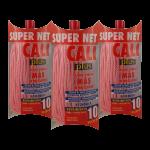 Fregona microfibra Rosa 3 Unidades Super Net Cali
