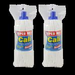Fregona microfibra 250 gramos blanca Super net Cali
