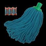 Fregona de Microfibra Super Net Cali Verde 240 g Pack 3 uds
