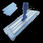 Mopa microfibra azul 40 cm con 2 recambios Super Net Cali