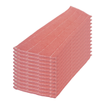 Recambio mopa microfibras rosa 30 cm 12 Unidades Super Net Cali