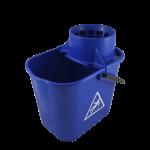 Cubo de fregona 14 litros azul