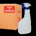 Botella de 750 ml con pulverizador 6 Unidades Super Net Cali