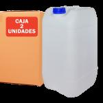 Garrafa jerrican de 25 litros Pack 2 Unidades Super Net Cali