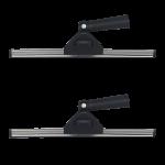Limpiacristales profesional con giro en angulo 35 cm c 2 uds
