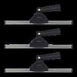 Limpiacristales profesional con giro en angulo 35 cm c 3 uds