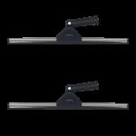 Limpiacristales profesional con giro en angulo 45 cm c 2 uds