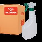 Pulverizador verde con botella de 750 ml Pack de 24 Unidades Super Net Cali