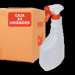 24 Unidades botella de 750 ml con pulverizador verde Super Net Cali