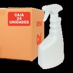 Pulverizador con botella de 750 ml Pack de 24 Unidades Super Net Cali
