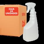 Pulverizador y botella de 750 ml Pack de 24 Unidades Super Net Cali