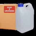 Garrafa jerrican de 10 litros, pack de 2 Unidades Super Net Cali