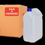 Garrafa jerrican de 5 litros Pack de 4 Unidades Super Net Cali