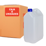 Garrafa jerrican de 5 litros Pack 8 Unidades Super Net Cali