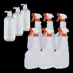 Pack de 6 unidades de pulverizadores de 7500 ml y 3 botes dispensadores de 500 ml Super Net Cali