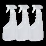 Pulverizadores de botella rellenable de 750 ml Pack 3 Unidades Super Net Cali