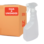 Pulverizador con botella rellenable pack de 6 Unidades Super Net cali