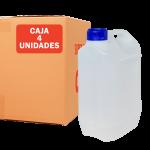 Garrafa jerrican de 5 litros pack 4 Unidades Super Net Cali