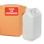 Garrafa jerrican 5 litros pack 16 Unidades Super Net Cali