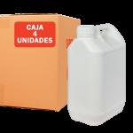 Garrafa jerrican 5 litros pack 4 Unidades Super Net Cali