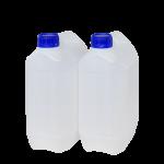 Garrafa jerrican 5 litros pack 2 Unidades Super Net Cali