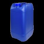 Garrafa de plástico azul, uso alimentario y transporte ADR, Super Net Cali