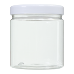 Bote PET Transparente tapa blanca 500 ml Super Net Cali 48 unidades